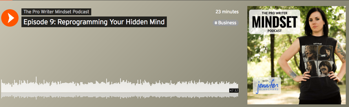 The Pro Writer Mindset, ep. 9: An Interview with Gwenda and Christine from Your Hidden Mind