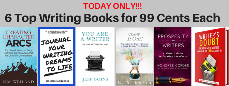 TODAY ONLY: Get 6 Top Writing Books for 99 Cents Each