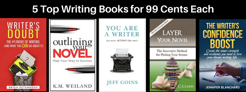 TODAY ONLY: Get 5 Top Writing Books for Only 99 Cents Each